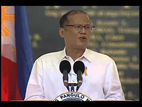 Speech of President Aquino on the 40th anniversary of the declaration