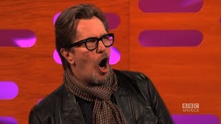 Video GARY OLDMAN on His Screaming Role in CALL OF DUTY - The Graham Norton Show on BBC AMERICA MP3, 3GP, MP4, WEBM, AVI, FLV Juli 2018