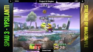 Anther (Pikachu) vs LOE1 (Wario) SPAU 3 Grand Finals