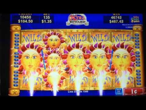 SOLSTICE CELEBRATION slot machine FULL SCREEN BIG WIN!