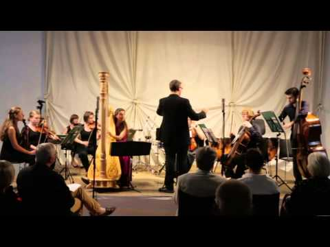 Sinfonia Concerto Johann Christian Bach Harp and Strings