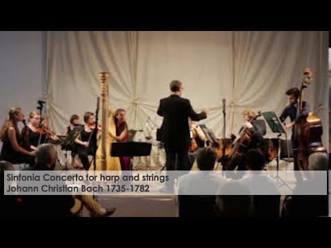 Sinfonia Concerto Johann Christian Bach Harp and Strings