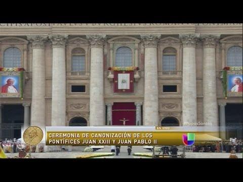 Juan Pablo II y Juan XXIII son declarados santos (+Fotos y Video) (27 - 4 - 2014)