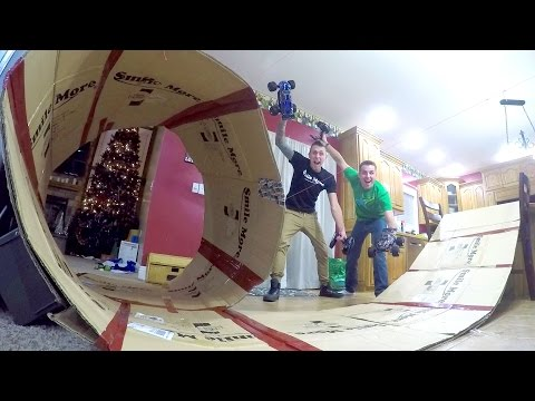 CRAZY INDOOR RC LOOP!! (видео)