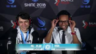 Shine 2016 – Vish Interviews Plup