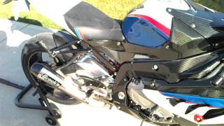 10. 2012 BMW S1000RR with Brock's Performance exhaust