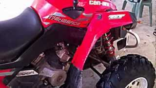 8. 2009 Can am renegade 800r