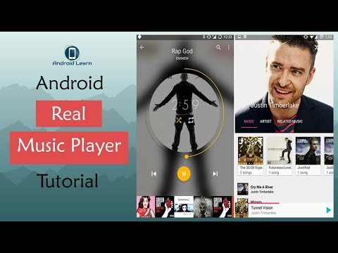 How To Make Music Player App In Android Studio