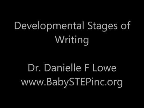 Lowe Developmental Stages of Writing