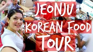 Jeonju-si South Korea  city photo : Korean Travel: Jeonju Food Tour