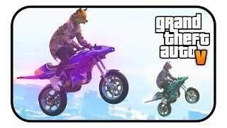 "Sorry if there are any editing mistakes in this video. I had to rush edit this because the first time I did it I lost everything so I was pushing for time editing it the second time. At least I got this video out for you guys to enjoy. Hopefully there aren't too many errors in this video.THIS BIKE CAN FLY AND IT IS AMAZING! - (GTA Online Funny Moments & Pegassi Oppressor!) THIS BIKE CAN FLY AND IT IS AMAZING! - (GTA Online Funny Moments & Pegassi Oppressor!)Please help me reach 5,000 subscribers, that would be awesome:https://www.youtube.com/TheGtaBeast2k13Follow me on twitter to stay update with anything I have to say:https://twitter.com/Beast2k13Music Used (in order):Huma Huma - Not Too CrayNot for Nothing - Otis McDonaldMinoru - 187It's A ""Prankster"" Gangster Party 2 - Jan Chmelar Outro: Distrion & Alex Skrindo - Lightning (NCS Release)Music provided by NoCopyrightSounds.Watch: https://youtu.be/dM2hrLwdaoUDownload/Stream: http://ncs.io/LightningYO"