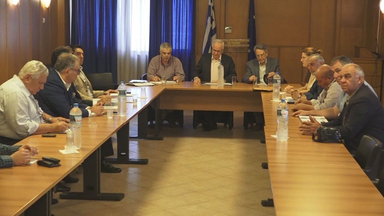 Διεπαγγελματική συνάντηση για τη φέτα στο υπουργείο Αγροτικής Ανάπτυξης