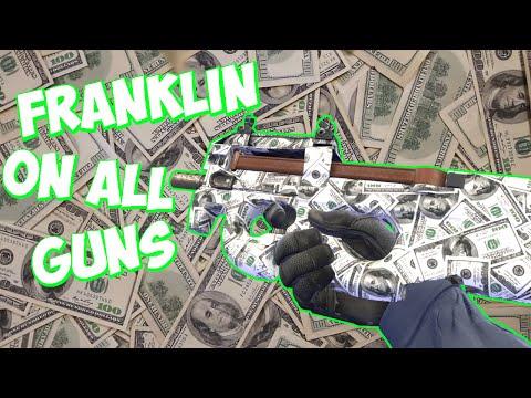 CS:GO All Guns With Franklin Skin Showcase