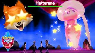 SHINY GMAX HATTERENE + POKEMON HOME!! (Pokemon Sword + Shield)