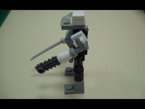 Делаем Боевого робота из Lеgо - DomaVideo.Ru
