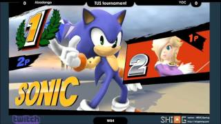 TUS Tournament Winners R4: Abadango (Rosalina) vs. Yoc (Sonic)