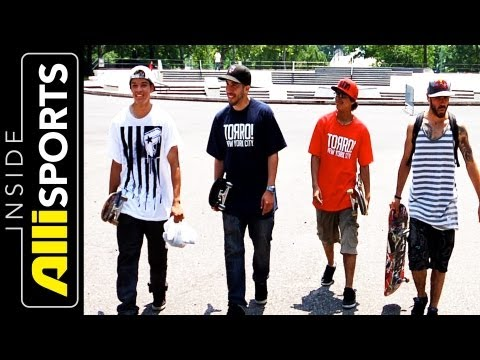 Exploring Queens' Skateparks with Rodney Torres, Zered Bassett + Luis Tolentino | Inside Alli Sports