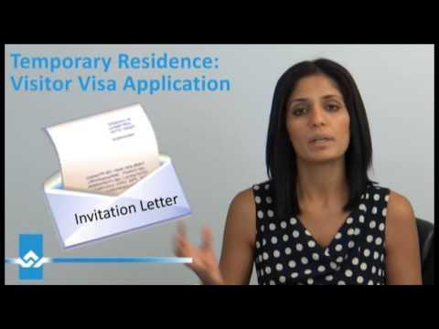 Visitor Visa Application Video