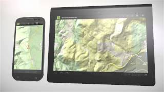 BackCountry Navigator TOPO GPS YouTube video