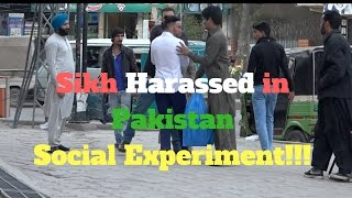 Video Sikh Harassed In Pakistan Social Experiment!!! download in MP3, 3GP, MP4, WEBM, AVI, FLV January 2017