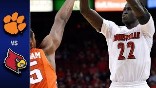 Clemson vs. Louisville Men's Basketball Highlights (2016-17)