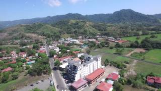 Jaco Costa Rica  city images : Jaco, Costa Rica beach and city aerial 4K flyover
