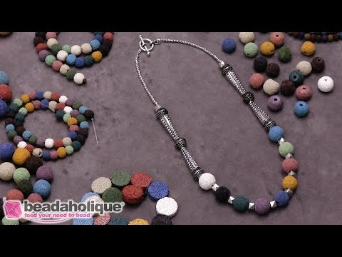 Show and Tell: Lava Beads