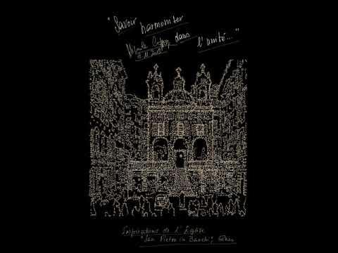 'Savoir harmoniser dans l'unité' : Poème calligramme de Nicole Coppey