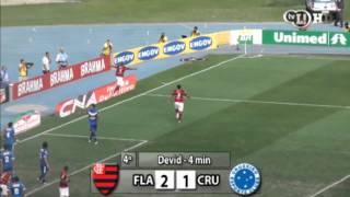 Em dia inspirado de Deivid, Thiago Neves e Muralha, Rubro-Negro faz 5 a 1 e se mantém na briga pelo título. Raposa entra na zona de rebaixamento.