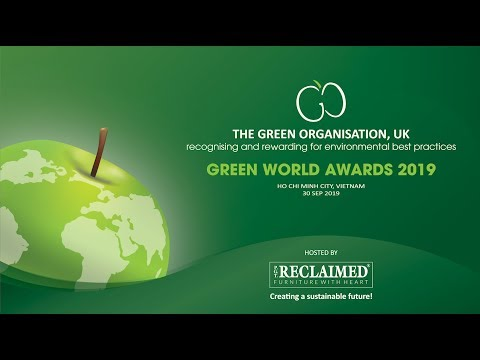 PGT-Reclaimed – Green World Awards 2019