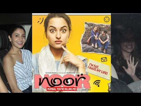 Sonakshi Sinha | Meera Rajput At Special Screening Of Flim Noor