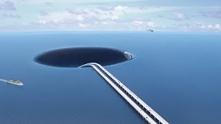 Video What If We Dig a Tunnel Under the Ocean? MP3, 3GP, MP4, WEBM, AVI, FLV September 2018