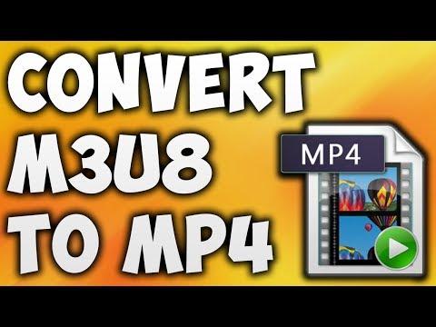 How To Convert M3U8 TO MP4 Online - Best M3U8 TO MP4 Converter [BEGINNER'S TUTORIAL]