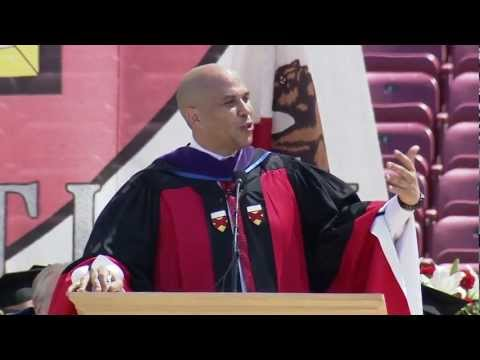 cory booker newark - June 17, 2012 - Cory Booker, the mayor of Newark, New Jersey, challenges Stanford graduates to be courageous, never lose faith and always work together durin...