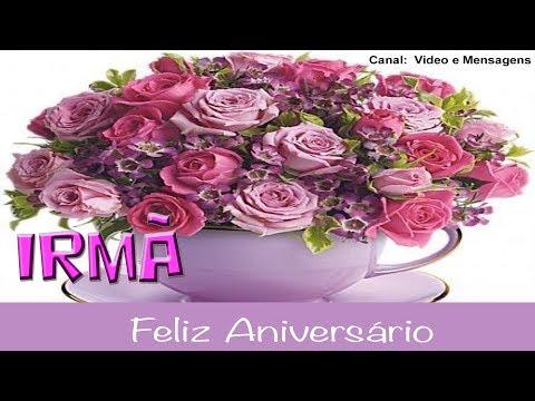 Msg de aniversário -   Linda mensagem de aniversário Irmã - gospel - Feliz Aniversário minha Irmã - Parabéns Pra Você