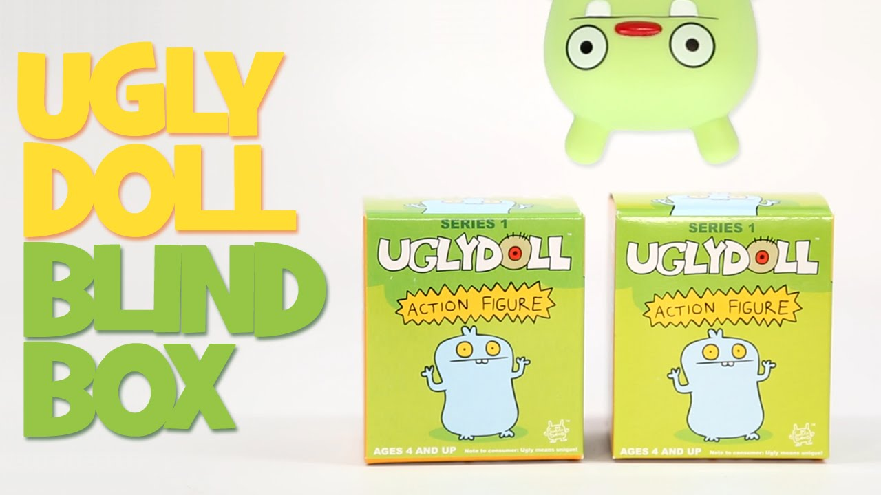 Ugly Dolls Action Figures