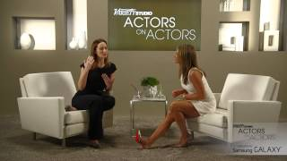 Jennifer Aniston & Emily Blunt at the Variety Studio: Actors on Actors presented by Samsung Galaxy