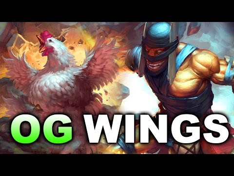 OG vs WINGS - Good Game! - DAC 2017 DOTA 2 (видео)