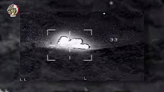استهداف قوات مكافحة الإرهاب بشمال سيناء عدد (٧) بؤر إرهابية و(٨) فرد إرهابى وتدمير (٢) عربة مفخخة