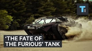 Nonton The tank in 'The Fate of the Furious' is real Film Subtitle Indonesia Streaming Movie Download