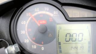 9. Aprilia SR 50 R Factory 0 -80 km/h
