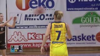 Good Angels Kosice vs Kibirkstis Vilnius – EEWBL 31.03.17 Kosice