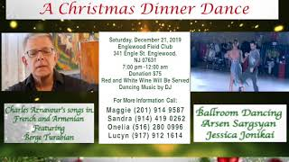 Voice of Armenians TVNY Presents A Christmas Dinner Dance