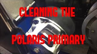 7. Belt Removal and Clutch Cleaning on your Polaris Snowmobile
