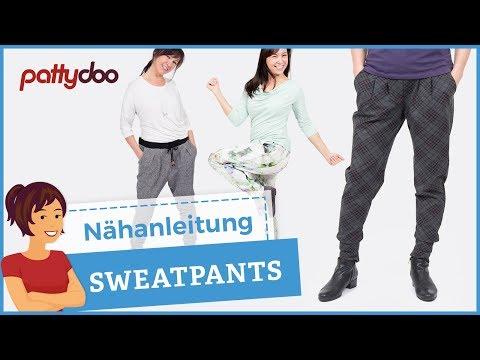 Eine coole Sweatpants/Jogginghose/Sweathose nähen