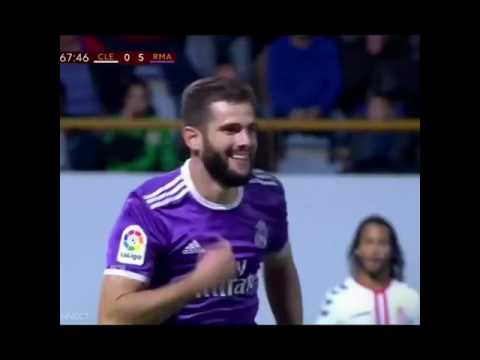 Nacho Fernandez Goal Against Leonesa 10-26-16 FT : Real Madrid 7-1 Leonesa