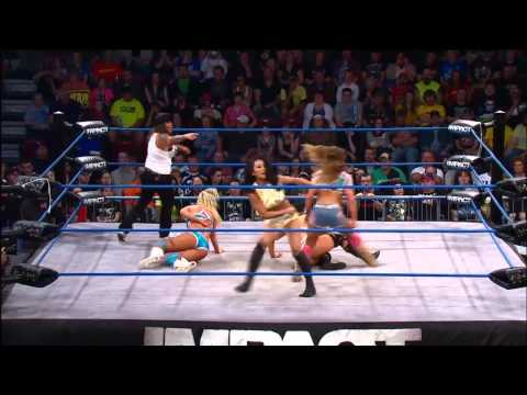 terrell - Knockouts Tag Team action between the teams of Mickie James and Taryn Terrell and Tara and Gail Kim. Watch IMPACT WRESTLING every Thursday night at 8/7c on S...