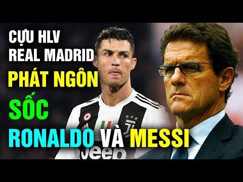 Phát Ngôn Gây Sốc Của Cựu HLV Real Madrid: Ronaldo Không Đủ Tầm So Sánh Với Messi - Thời lượng: 12 phút.