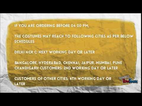Online rental of Fancy dress costumes simplified