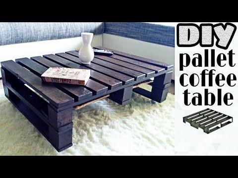 tavolino da caffé in pallet - ecco come farlo!
